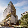 Australia's tallest timber building to top-up Melbourne Central