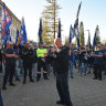 'Freo is a working-class town': Unions take to streets over port's future