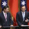 Abbott dumps on Beijing's 'new red emperor' in provocative Taiwan speech