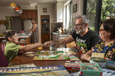 It's boardgames and crafts as home-bound Melburnians turn back the clock