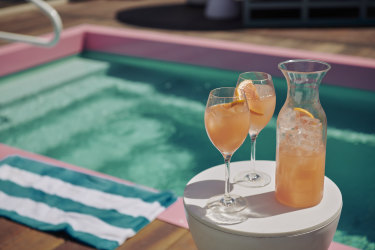 Arbory Afloat's new rooftop pool.