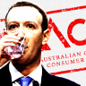 The ACCC inquiry has recommended a crackdown on tech giants Google and Facebook