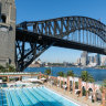 North Sydney is not the only pool in hot water