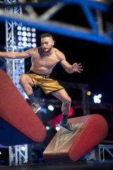 Australian Ninja Warrior pumps up the jam.