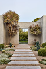 The garden of a private home in Portsea, Victoria.