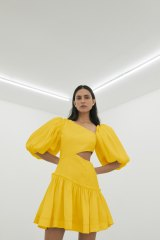 Try wearing a yellow dress and feeling blue.