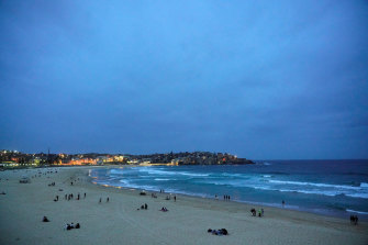 Bondi Beach is expected to reach tops in the 20s on Saturday.
