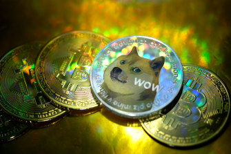 The price of Dogecoin has risen by 7000 per cent in 2021.