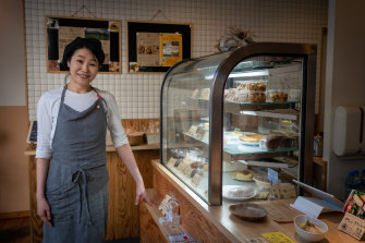Maho Innami, owner of Tamanegi Japanese bento delicatessen store.