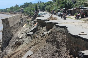 Dili has been devastated by a cyclone that tore through east Timor this week.