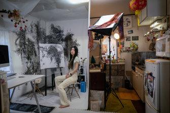 Mika Tamori, a Tokyo visual artist.