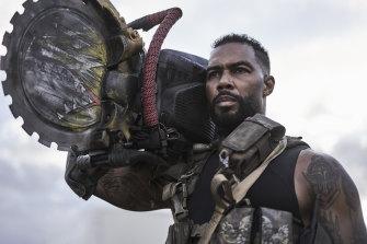 Omari Hardwick as Vanderohe in Army of the Dead.