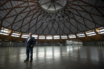 Sydney Showground general manager Peter Thorpe says coronavirus has had a devastating impact.