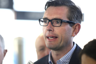 NSW Treasurer Dominic Perrottet said the budget would ease cost of living measures.