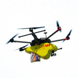 One of the Wespac Little Ripper drones that will be in use across Australia this summer.