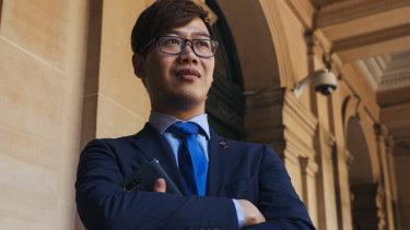 Councillor Huang Kun of Cumberland Council.