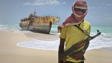 It is believed that pirates may have captured the missing oil tanker off the west coast of Africa.