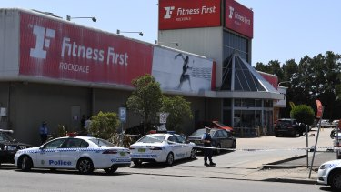 Hawi was shot as he sat in the driver\'s seat of his car outside Fitness First in Rockdale.