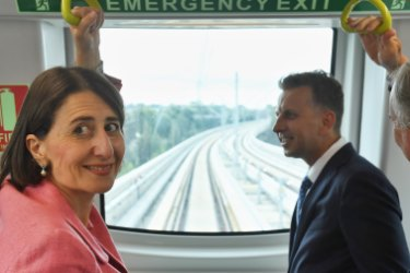 Sydney's new driverless metro trains set to 'change lives' of commuters
