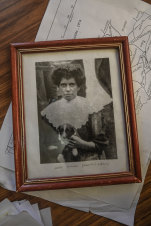 The photo Fred Dowling says is of his grandmother, Annie Lewis.