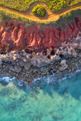 The viral picture of Gantheaume Point in Broome