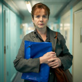 Emily Watson plays psychiatrist Dr Emma Robertson in Too Close.
