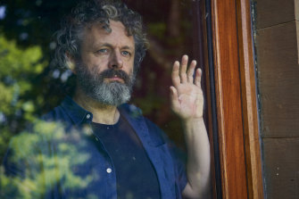 Michael Sheen in the lockdown TV series Staged.