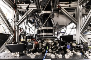 The most powerful quantum computer in the Southern Hemisphere is seen at the University of Sydney Nanoscience Hub.
