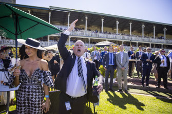 The excitement of day one of The Championships at Royal Randwick Racecourse on Saturday.