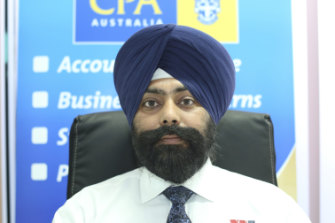 Manpreet Singh is a tax agent at SSK Accounting. A client of his withdrew cash after a call impersonating the firm's office.