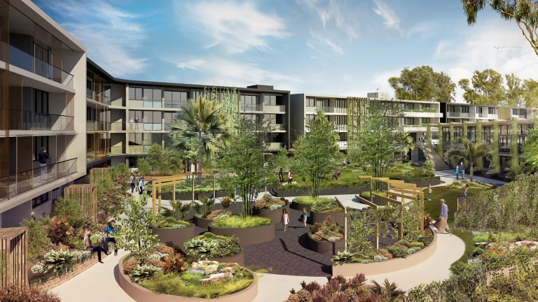 Design images for the Brisbane City Council-approved Tarragindi Bowls Club development.