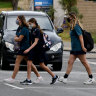 Schools return: Bags packed, uniforms ironed, masks on for Perth and Peel
