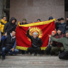 Coup d'etat 'under way' as Kyrgyzstan opposition claims power