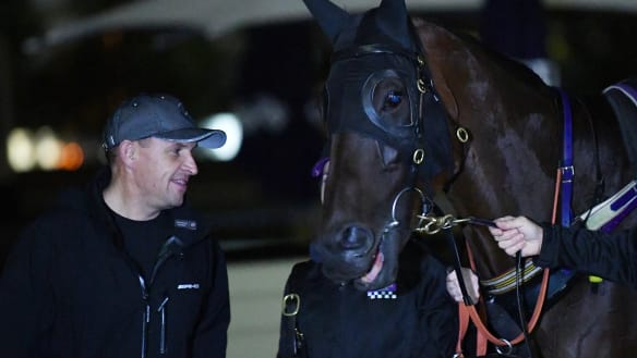 Winx a welcome distraction for Waller from Golden Slipper dream