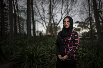 "Sydney lawyer Mona El Baba says she frequently experiences ""random racism or bigotry""."