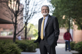 Professor Peter Shergold says career advice is needed throughout people's working lives