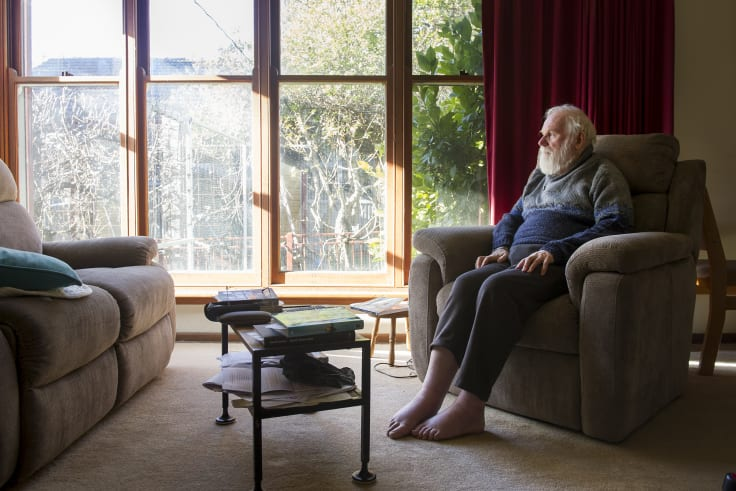 David Walker knows he will one day be bedridden by multiple sclerosis.
