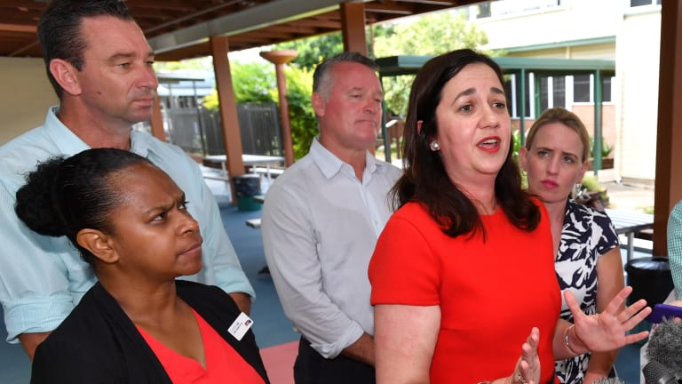 Queensland Premier Annastacia Palaszczuk has refused to rule out sending Queenslanders back to the poll in the case of a hung parliament.