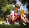 'Shhhh. I'm reading': the radical new activity in our parks