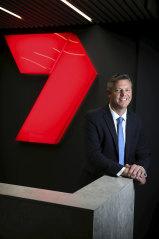 Praise for AFL: Seven chief James Warburton.