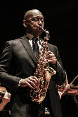 Branford Marsalis with the Australian Chamber Orchestra.