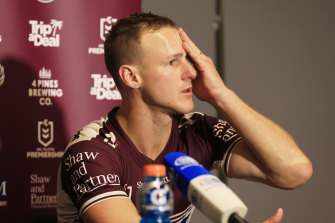Manly skipper Daly Cherry-Evans was under pressure to bounce back from Origin I.