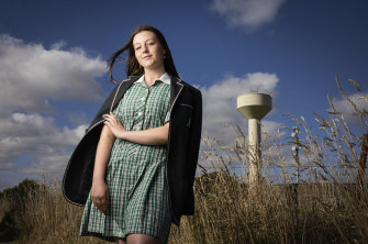 Warrnambool year 10 student Sienna Gladstone.