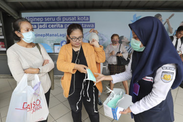 Indonesia, a nation of about 270 million people, only tests 104 for coronavirus