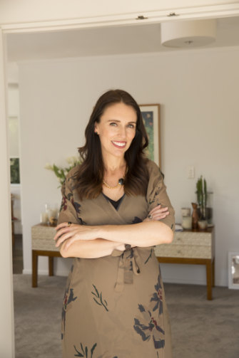 """I don't mind door-knocking for politics,"" Ardern says. ""Because nothing is as hard as door-knocking for God!"""