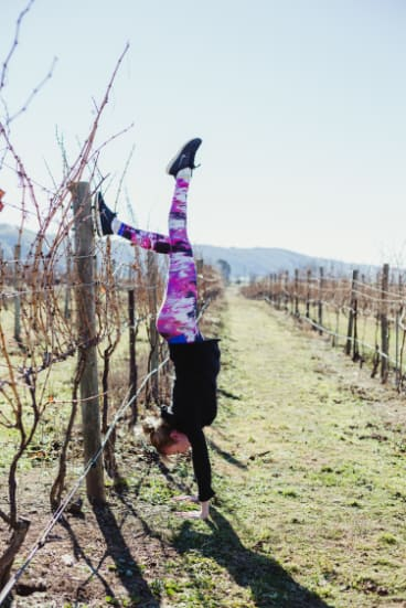 Wine tasting and yoga is definitely something the McDougalls want to introduce.