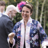 Perfectly hideous: Olivia Colman as the Godmother.