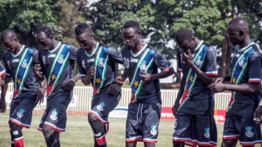 AMS supplies jerseys for the South Sudanese national soccer team.