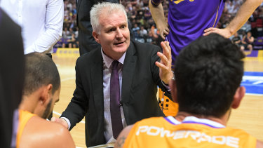 Andrew Gaze will continue as coach of Sydney Kings.