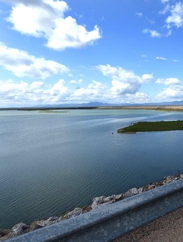 Ross River Dam has reached 70 per cent capacity.